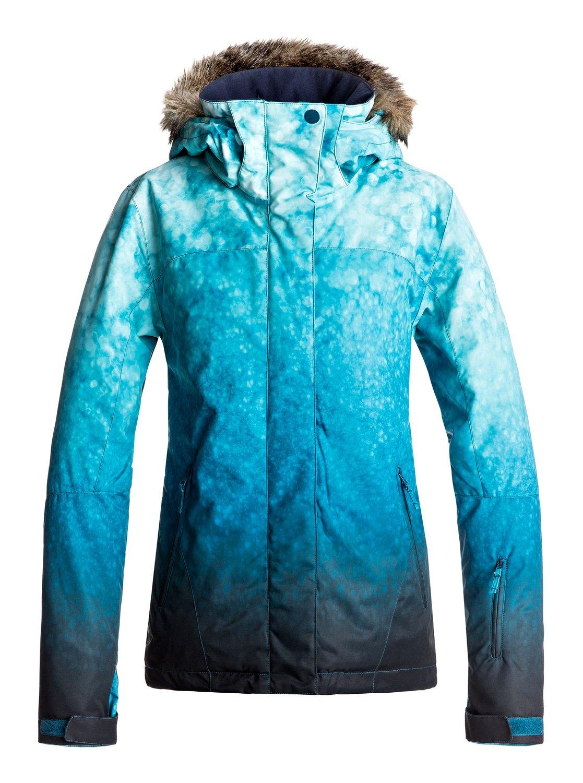 куртка женская roxy jet ski цвет синий erjtj03124 bfk9 размер s 42 Сноубордическая куртка Jet Ski SE