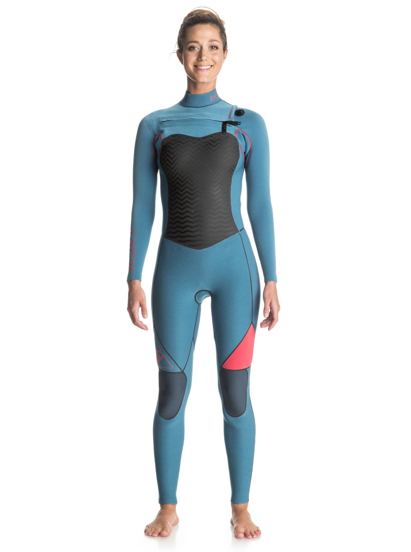 Performance 4/3mm - Combinaison de surf intégrale zip poitrine pour femme - Roxy