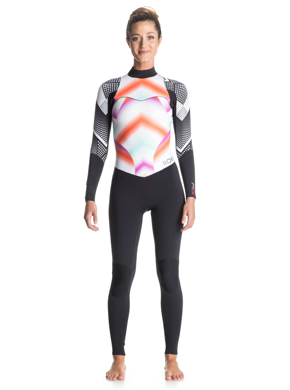 Pop Surf 4/3mm - Combinaison de surf intégrale zip dans le dos pour femme - Roxy