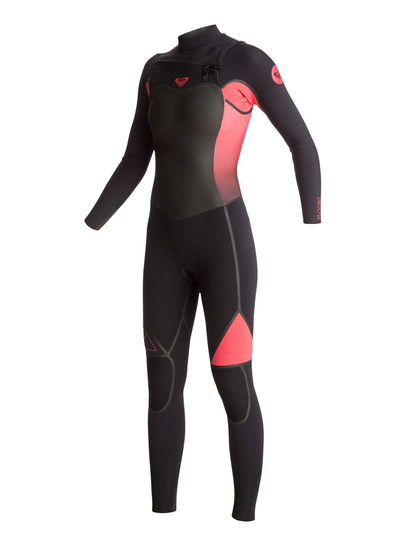 Syncro 4/3mm - Combinaison de surf intégrale zip poitrine pour femme - Roxy
