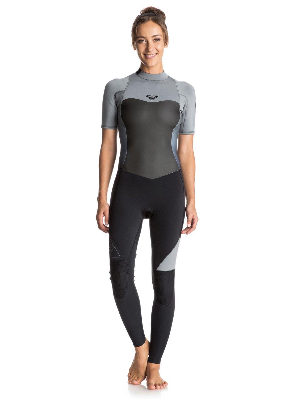 Syncro 2/2mm - Combinaison de surf intégrale à zip dans le dos pour femme - Roxy