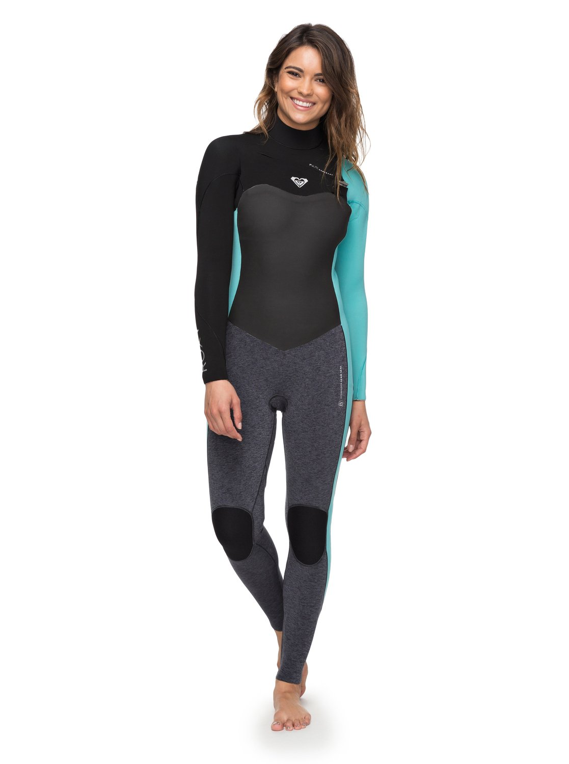 3/2mm Performance Chest Zip - Combinaison de surf zip poitrine pour Femme - Roxy