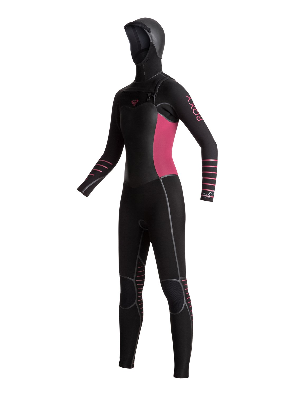 5/4/3 Syncro Chest Zip - Combinaison de surf zip poitrine pour Femme - Roxy