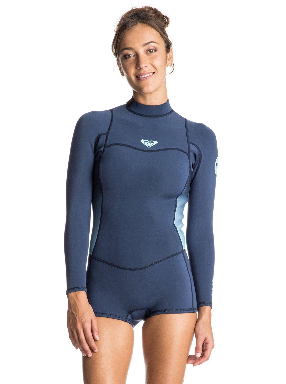 Syncro 2/2mm - Springsuit manches longues zip dans le dos pour femme - Roxy