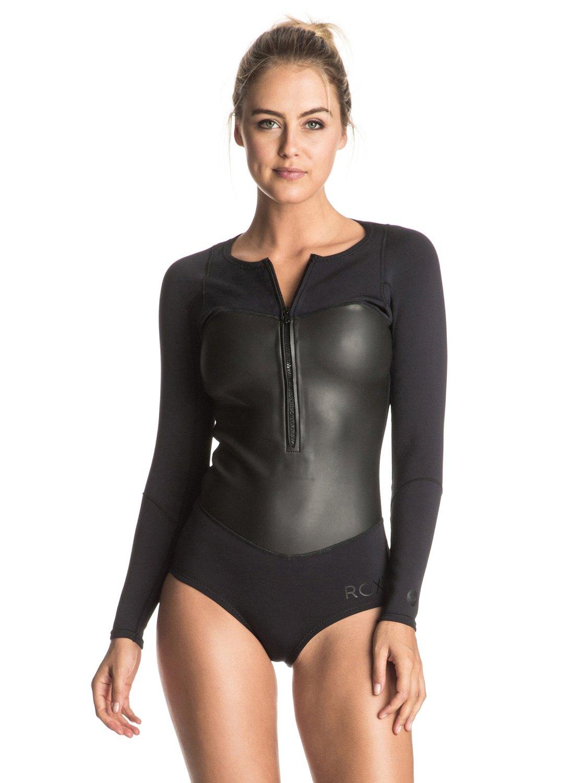 1mm Satin Bikini - Traje de surf ligero de manga larga para Mujer Roxy
