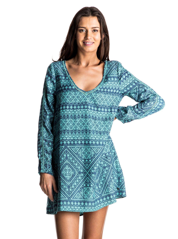 April Morning Long Sleeve Dress ERJWD03110 | Roxy