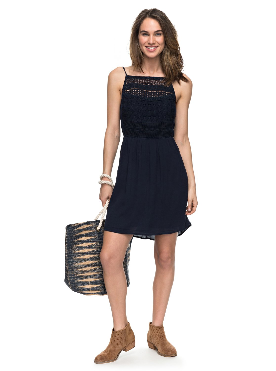 The dress and beyond - 1 Up And Beyond Dress Blue Erjwd03155 Roxy