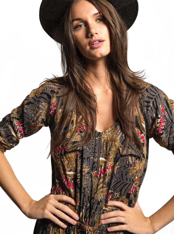 Sorrento Peninsula - Robe à manches longues pour Femme - Roxy