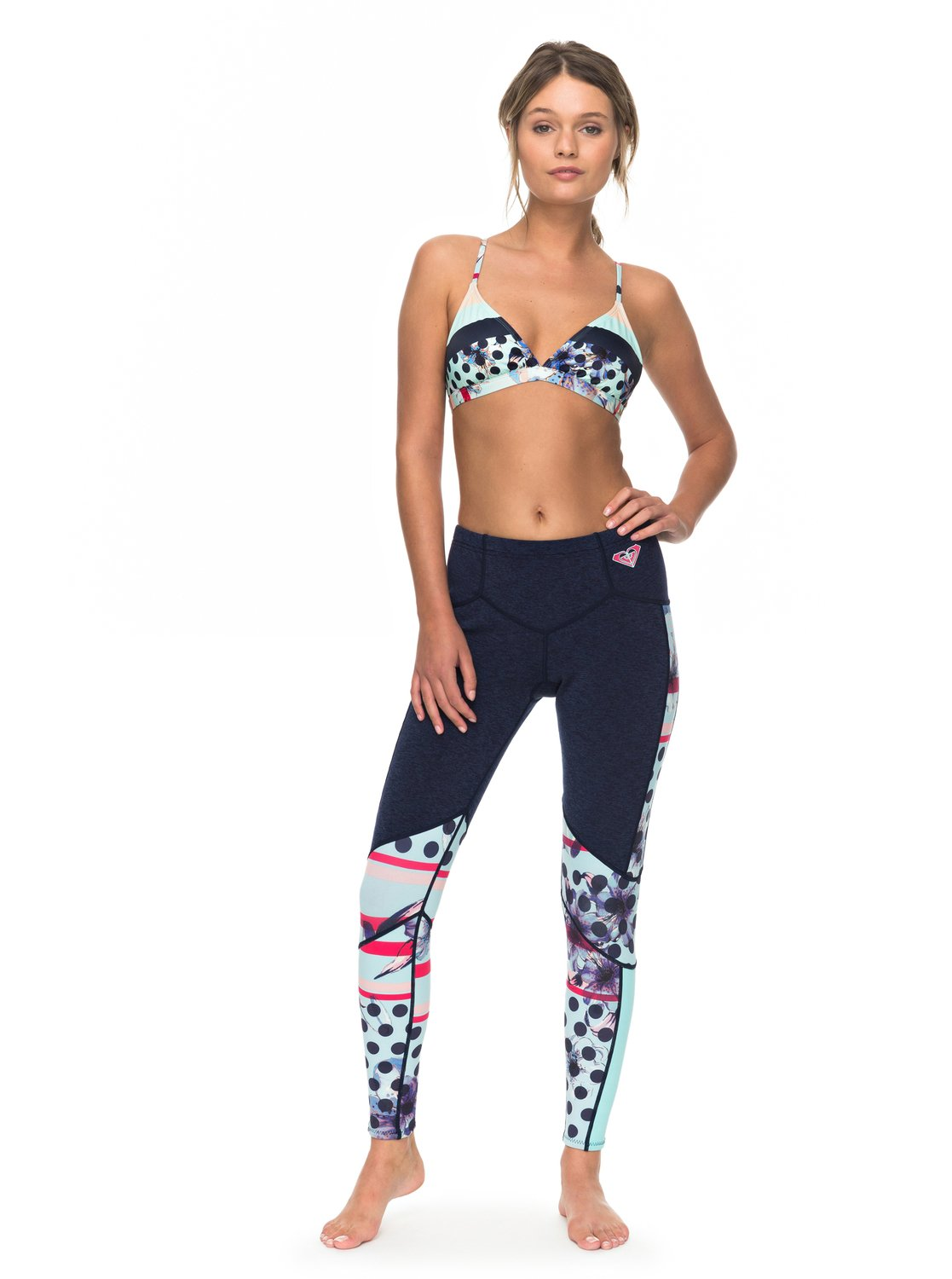 1mm Pop Surf Scallop - Leggins de Surf para Mujer Roxy