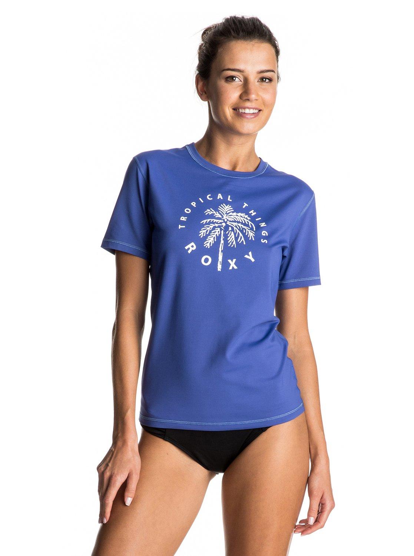 Palms away t shirt upf 50 rash vest 3613372530036 roxy for What is a rash shirt