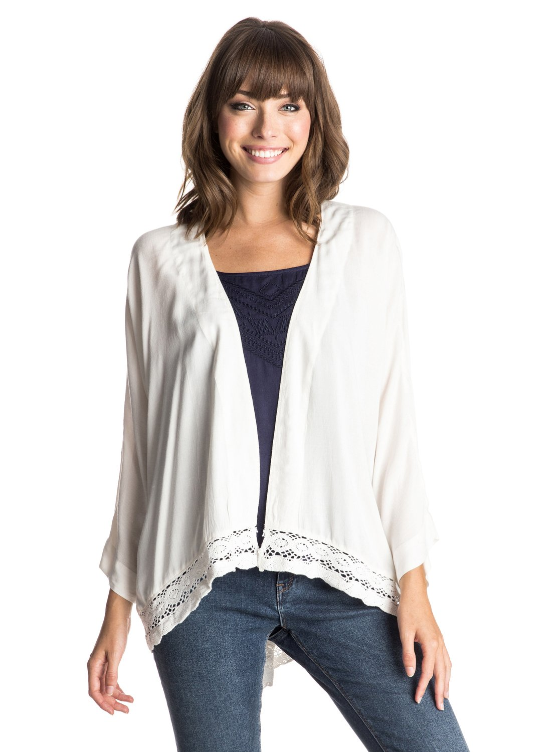 Life Pursuit Kimono Top - Roxy������� ���-������ Life Pursuit �� ROXY. <br>��������������: �� �������������, ������� ����� �� ����, ������� ����� �����. <br>������: 100% �������.<br>