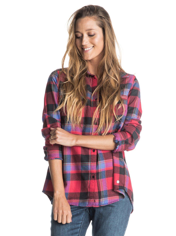 Рубашка женская с длинным рукавом Campay Flannel&amp;nbsp;<br>