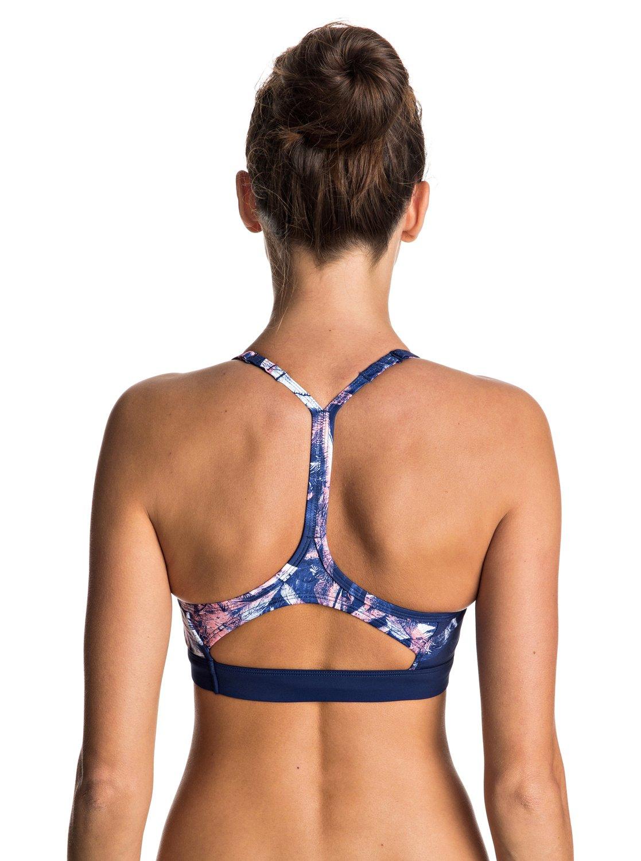 keep it roxy sporty bra bikini top erjx303399 roxy. Black Bedroom Furniture Sets. Home Design Ideas