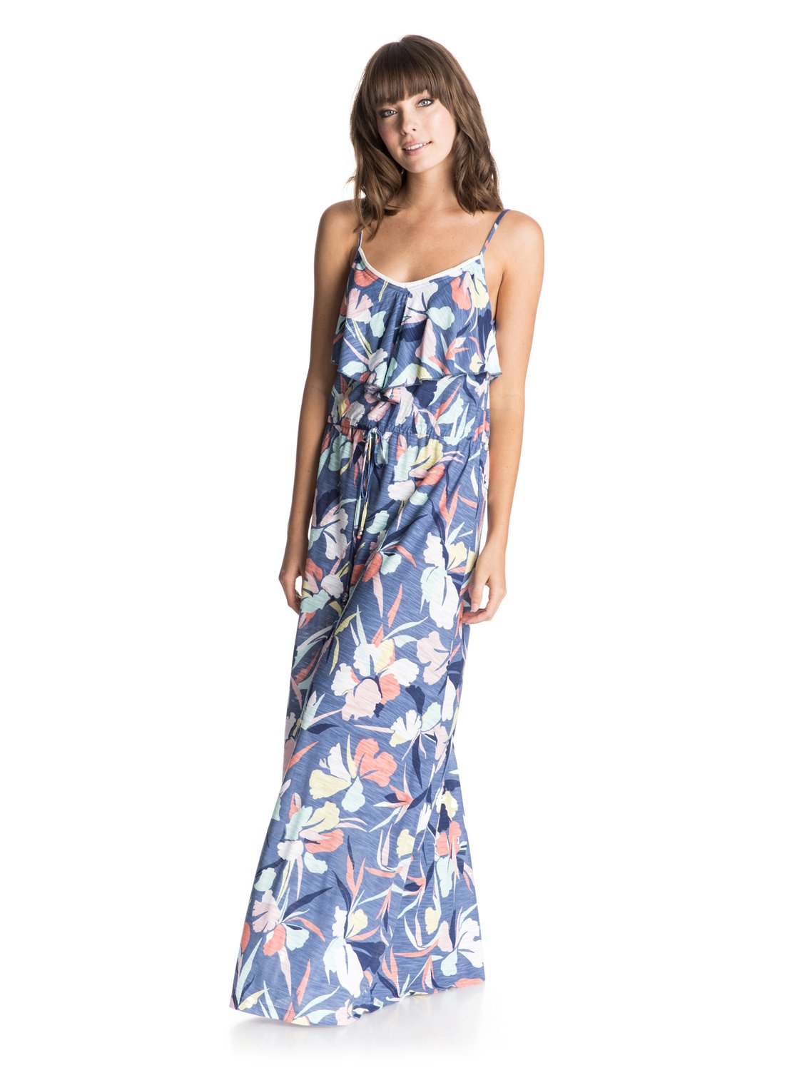 Платье-накидка Easy Tropical Long Roxy Easy Tropical Long Cover Up Dress