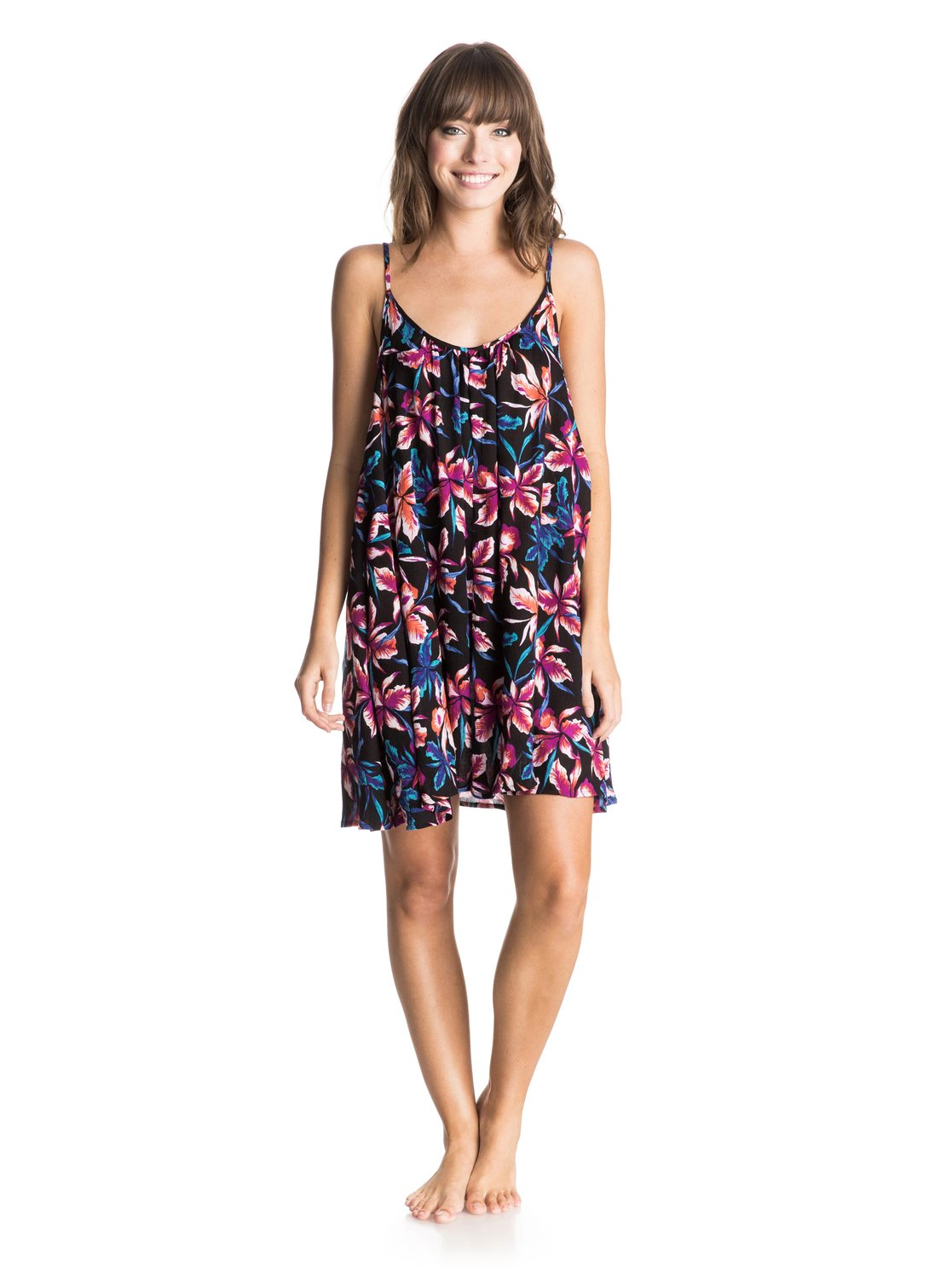 Windy Fly Away Print Cover Up Dress