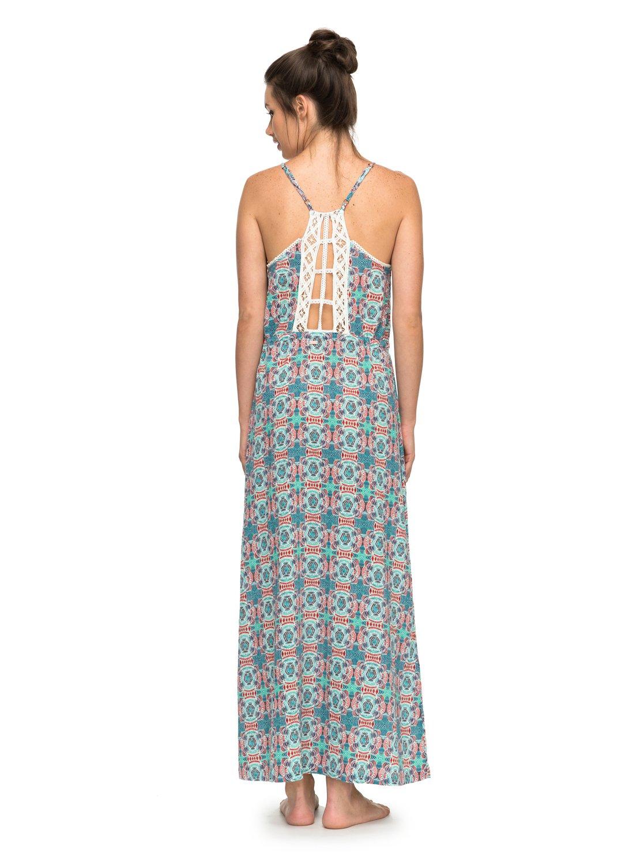 beauty roxy robe longue de plage erjx603061 roxy. Black Bedroom Furniture Sets. Home Design Ideas
