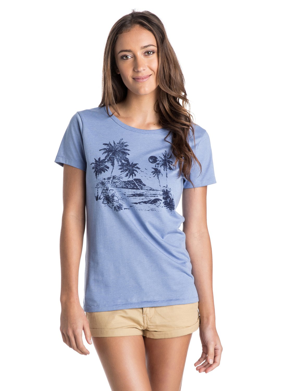 Женская футболка Roxy Basic Crew F
