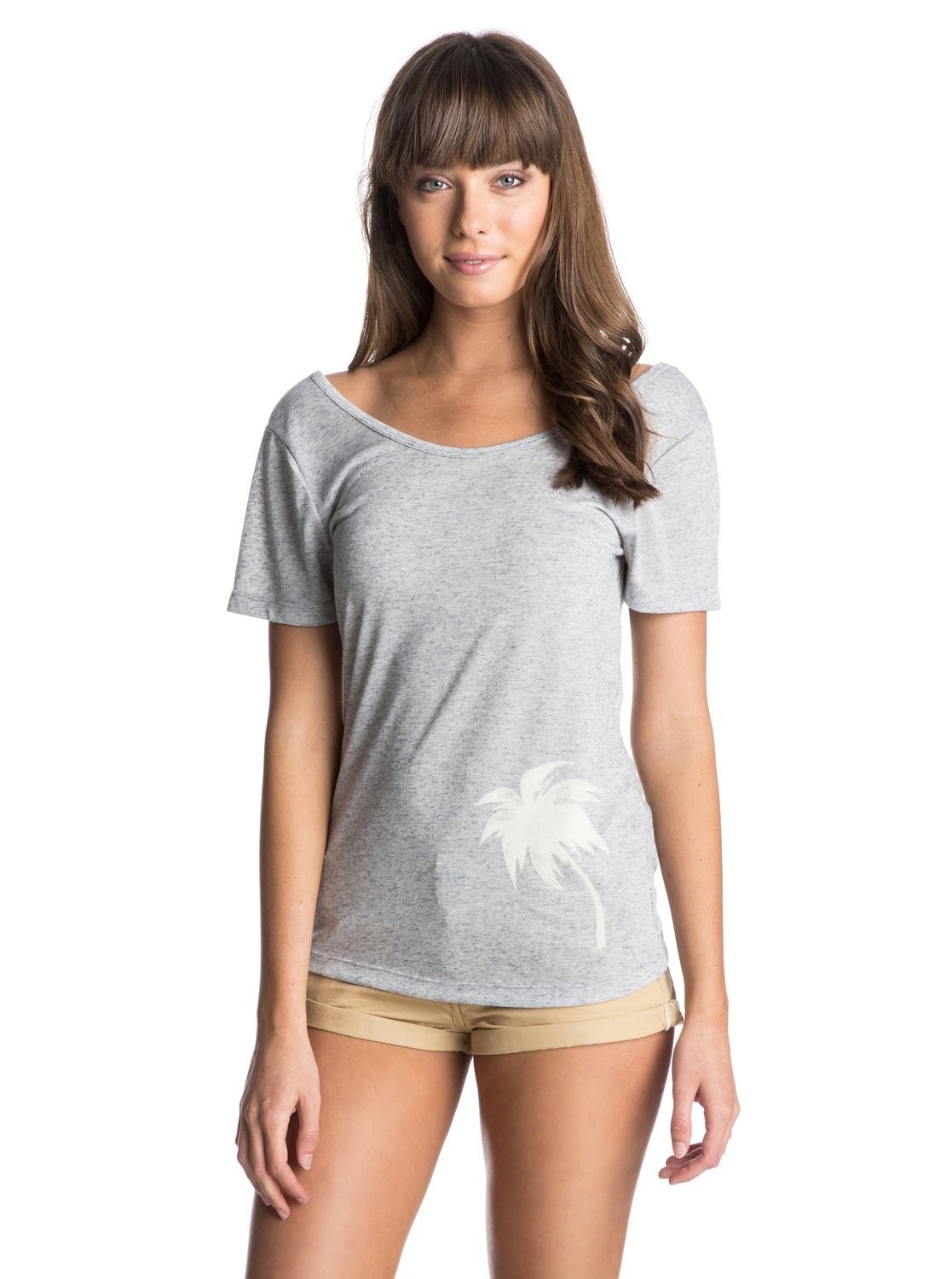 Scoop Back Tee D - RoxyScoop Back Tee D � ������� �� ��������� ������ Roxy �����-���� 2015. ��������������: ������� �������� � �������, �� � �������, ������ ����� (140 �/�?). �������������: ����������� ����, ������ � 85% �������, 15% ��.<br>
