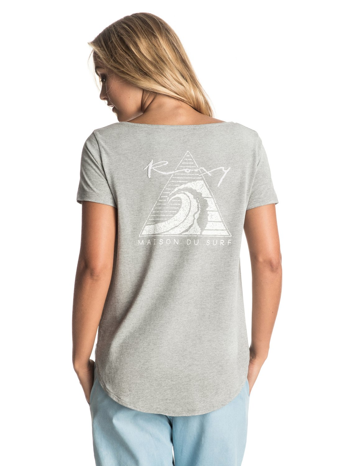 tulip side washed maison du surf t shirt 3613372445439