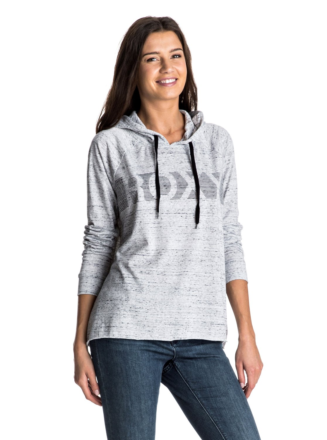 Early Walk A - Hooded Long Sleeve Top
