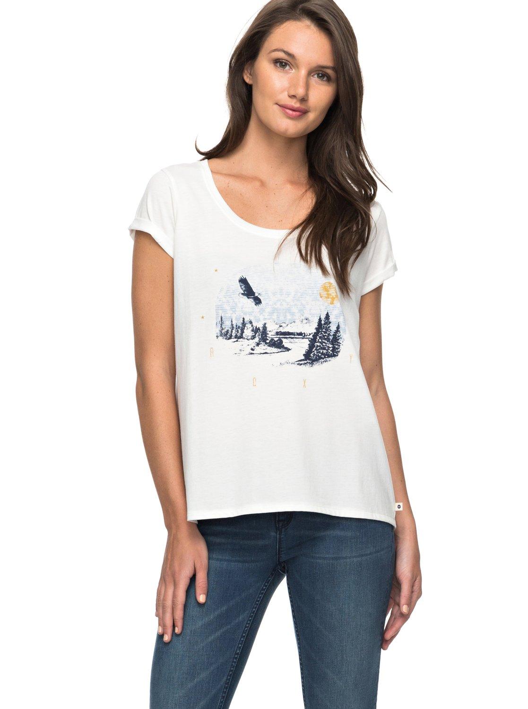 Mimi Jungle Eagle Mountain - Camiseta para Mujer Roxy