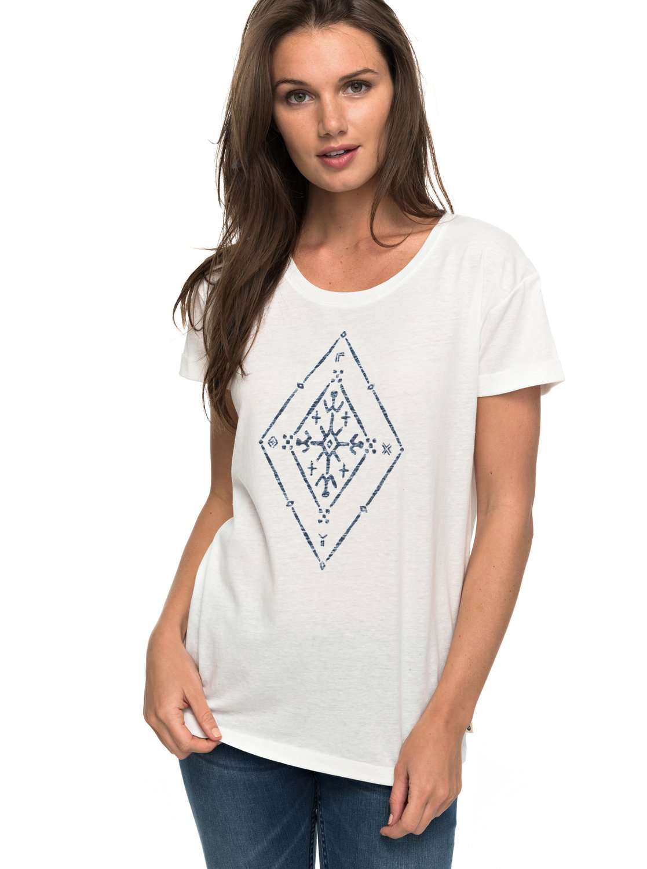 Alex Palm Tribal Voice - Camiseta para Mujer Roxy
