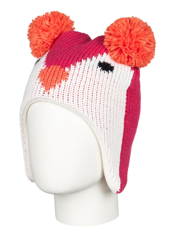 LimaШапка-beanie Lima для девочек из сноубордической коллекции Roxy. ХАРАКТЕРИСТИКИ: флисовая подкладка. СОСТАВ: 100% акрил.<br>