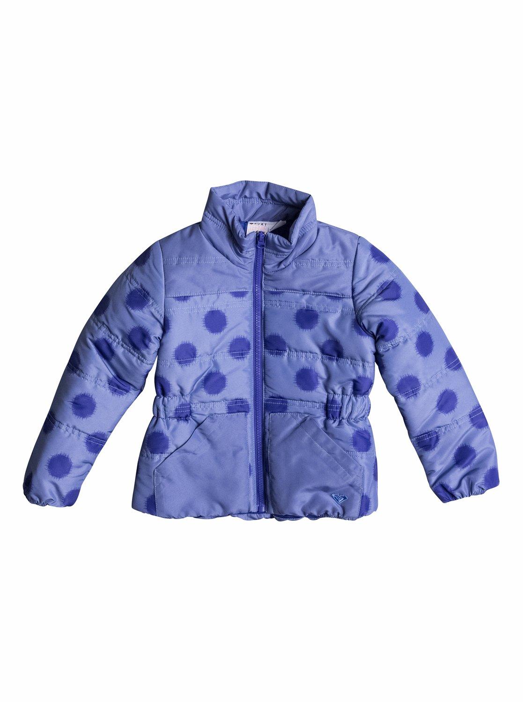 Snow Swirler - RoxyКуртка для девочек Snow Swirler от ROXY. Характеристики: нейлоновая ткань, два передних кармана. СОСТАВ: 100% полиэстер.<br>