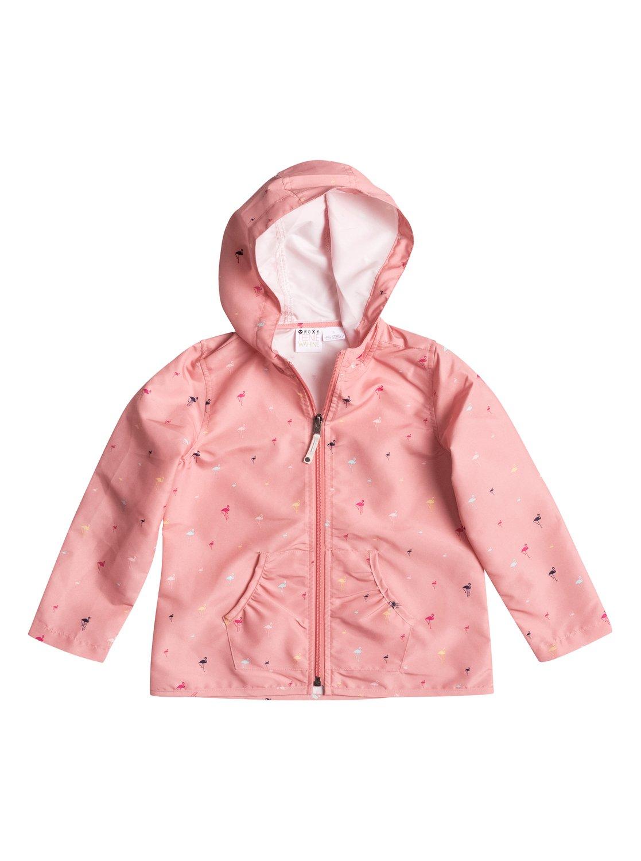 Girls Your Land Shell JacketКуртка-шелл для девочек Your Land от ROXY. <br>ХАРАКТЕРИСТИКИ: застегивается на молнию, присборенные передние карманы, капюшон на эластичной утяжке, сплошной принт. <br>СОСТАВ: 100% полиэстер.<br>