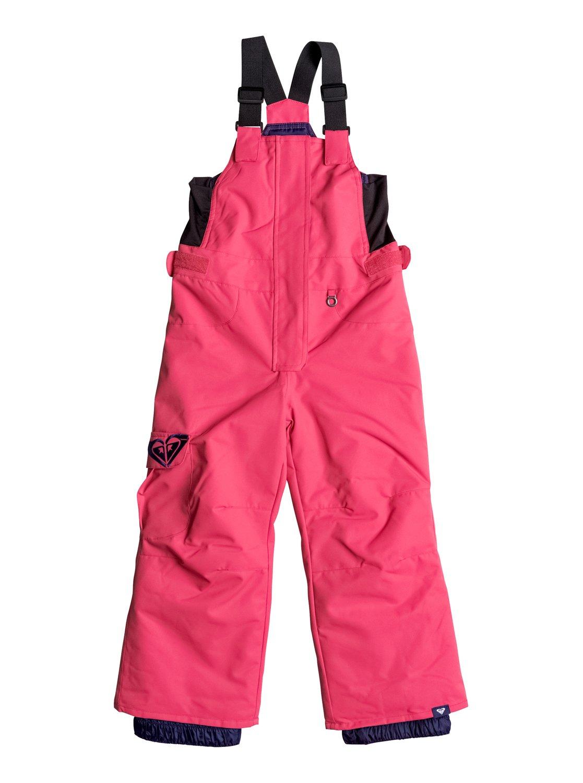 Сноубордические штаны-комбинезон LolaНет защиты от холода проще, чем сноубордические штаны-комбинезон с нагрудником для маленьких детей. А водостойкая и дышащая мембрана ROXY DryFlight® 10K, эластичные регулируемые плечевые лямки и пояс, обеспечат вашему ребенку море счастливых приключений в горах.<br>