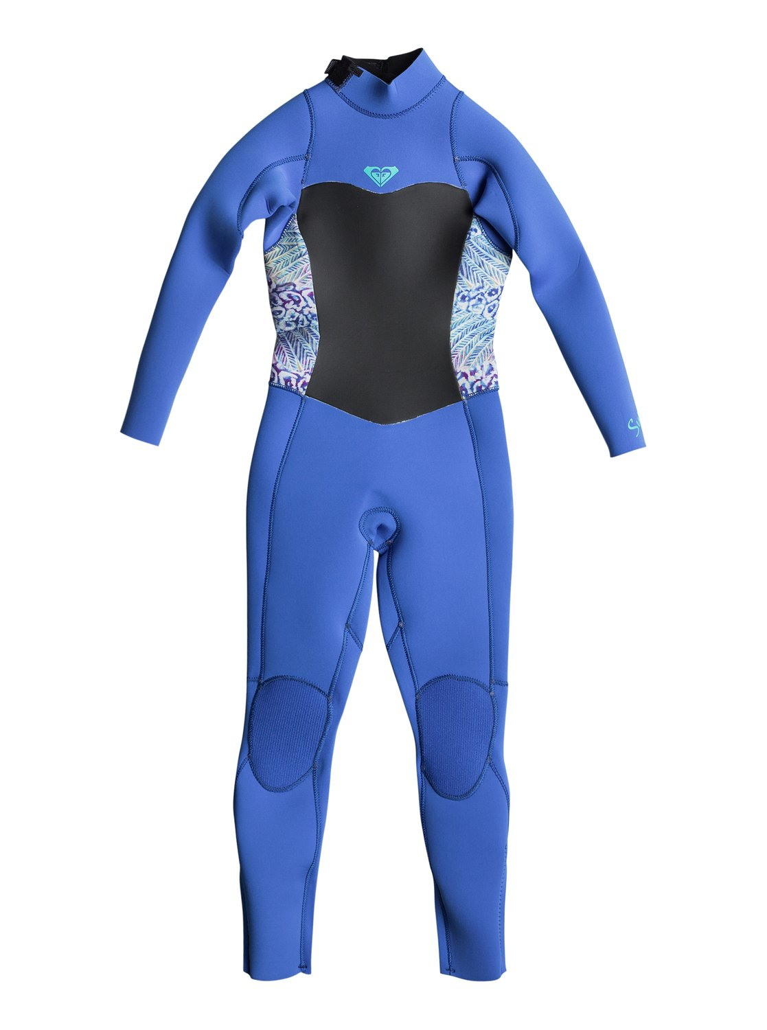 869e6642f3 0 3 2mm Syncro Series - Back Zip GBS Wetsuit Blue ERLW103001 Roxy