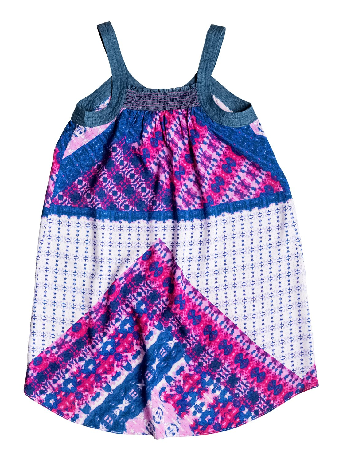 Girl 39 s 7 14 coco chambray dress 889103113615 roxy for Chambray 7 s