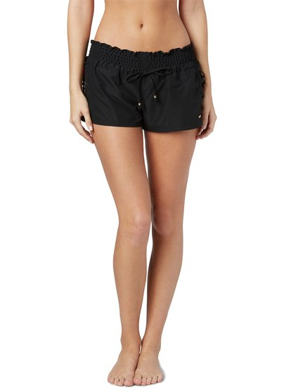 """Up for sale is a pair of juniors shorts by Roxy. Pink and green plaid. Colors can look different on multiple screens. """" in total length along edge. """" rise."""