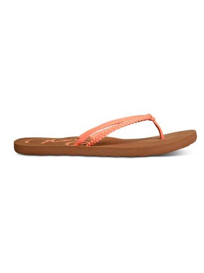 Cabo SandalsЖенские сандалии Cabo –новинка в обувной коллекции ROXY. <br>ХАРАКТЕРИСТИКИ: плоский плетеный стреп, мягкая стелька из полимера EVA, тисненый текстовый принт ROXY. <br>СОСТАВ: верх–100% полиуретан, подкладка–100% полиуретан, подошва–100% резина Rubberlon.<br>