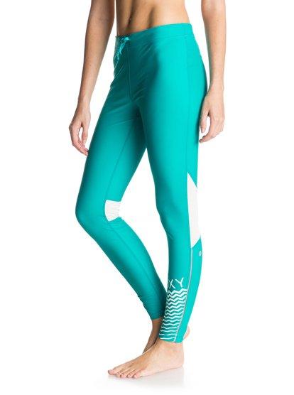 Womens Relay LeggingsЖенские штаны Relay от ROXY. <br>ХАРАКТЕРИСТИКИ: переработанный нейлон, технологичная лайкра Xtra Life, превосходные дышащие свойства, изделие быстро высыхает.<br>СОСТАВ: 78% нейлон, 22% лайкра.<br>
