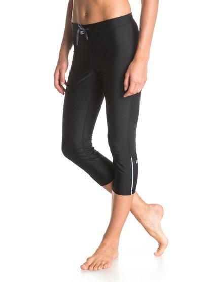 Relay Capri PantsЖенские штаны Relay от ROXY.ХАРАКТЕРИСТИКИ: переработанный нейлон, технологичная лайкра Xtra Life, превосходные дышащие свойства, изделие быстро высыхает.СОСТАВ: 78% нейлон, 22% лайкра.<br>