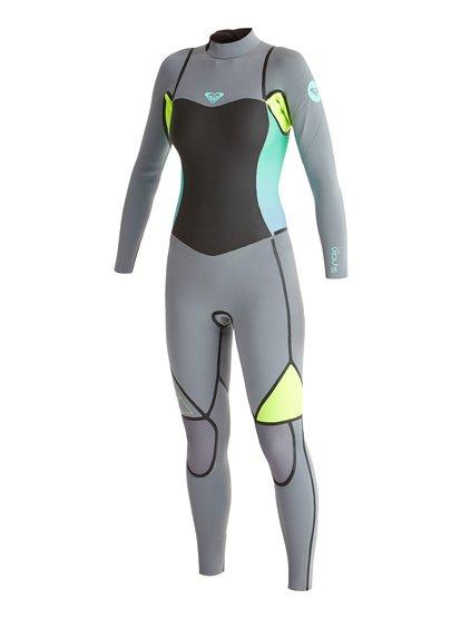 Гидрокостюм со спинной молнией Syncro LFS 4/3 мм Roxy Syncro LFS 4/3mm Back Zip Wetsuit