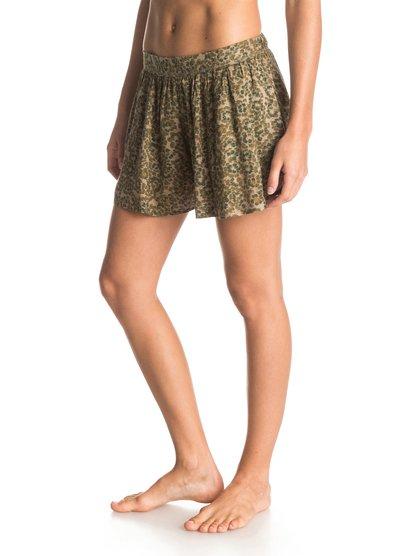 Act Nice - RoxyAct Nice – новинка из коллекции одежды Roxy Весна-лето 2015. Характеристики: женские шорты, скрытая молния, 37.5 см в длину (размер S). Дополнительно: состав – 100% вискоза.<br>