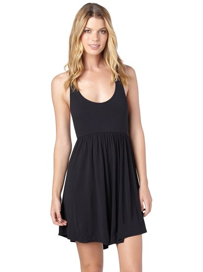 roxy, Sun Bleached Dress, Anthracite (kvj0