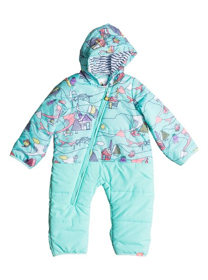 Rose Little Miss - Combinaison intégrale de snow pour Bebé - Bleu - Roxy