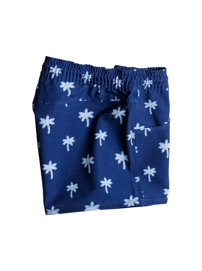 Girl's Tropical Palm Trees Boardshorts