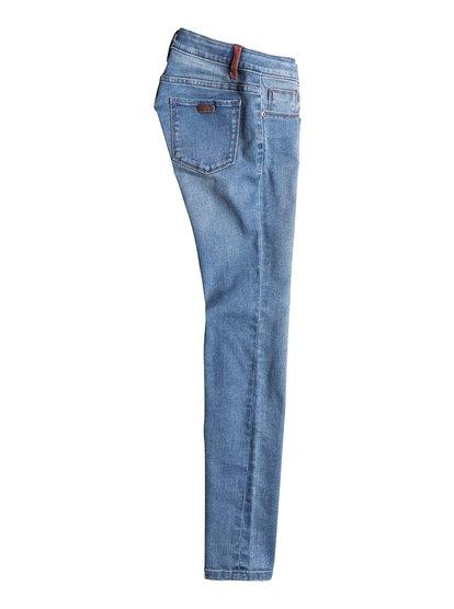 Узкие джинсы для девочек Step With MeУзкие джинсы для девочек Step With Me от Roxy.ХАРАКТЕРИСТИКИ: узкий крой, кожаная нашивка Roxy на заднем кармане, двухцветная петля для ремня сзади.СОСТАВ: 99% хлопок, 1% эластан.<br>