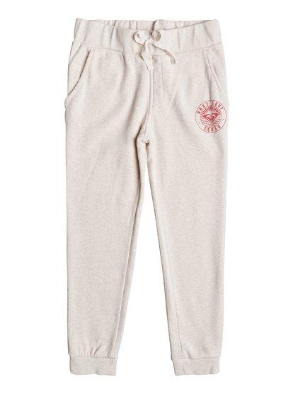 Color Range - Pantalon de survêtement slim fit pour Fille - Beige - Roxy