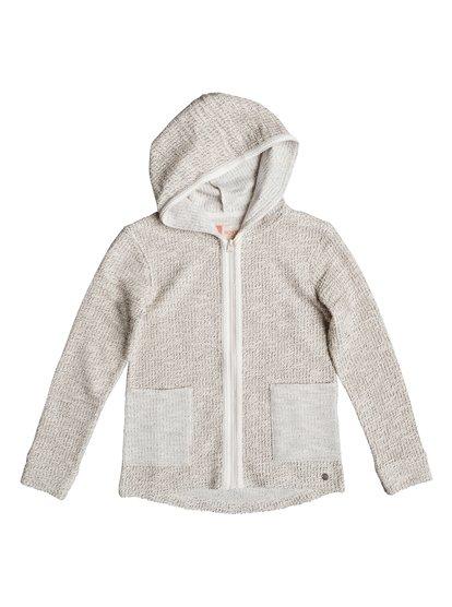 Cool White - Zip-Up Hoodie  ERGFT03223