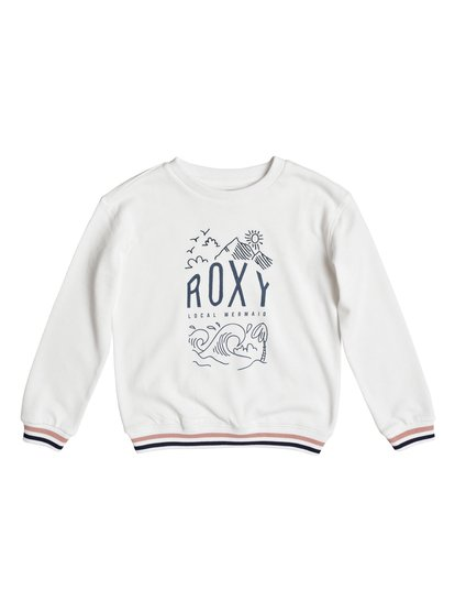 Shine All Day Night Surf - Sweat pour Fille - Blanc - Roxy