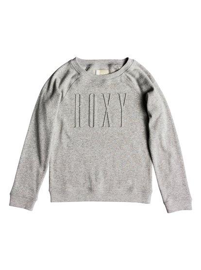 Wind Blew - Sweatshirt pour Fille - Gris - Roxy