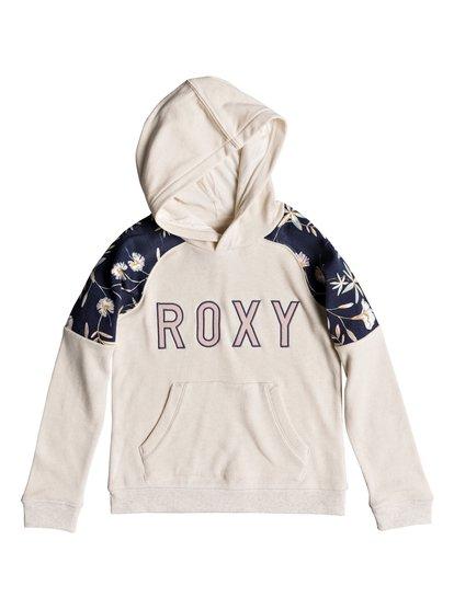 Watch The Sea - Sweat à capuche pour Fille 8-16 ans - Beige - Roxy