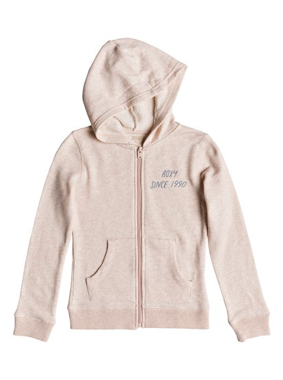 Last Smile Wavey Mountain - Sweat à capuche pour Fille 8-16 ans - Rose - Roxy