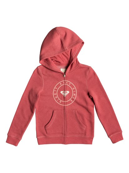 Girl Plans Pirate Type - Sweat à capuche zippé pour Fille 8-16 ans - Rose - Roxy