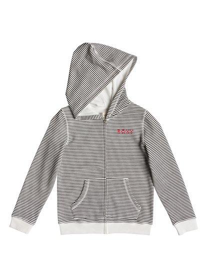 Just A Little - Sweat à capuche zippé pour Fille 8-16 ans - Noir - Roxy